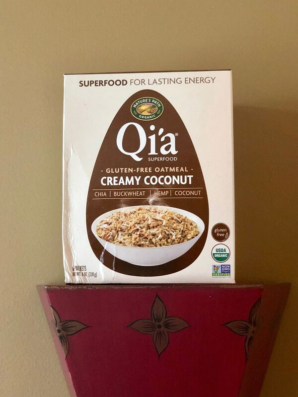 Superfood qia oatmeal